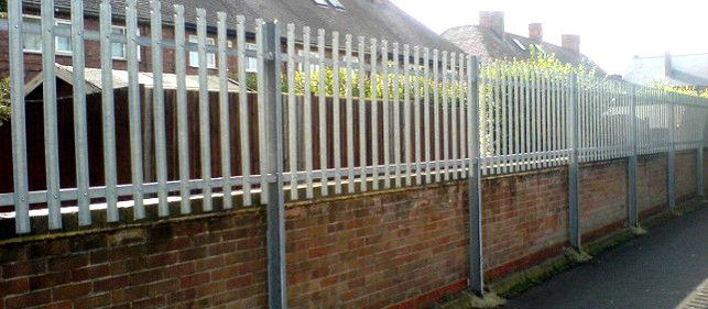 Security Fencing Palisade Galvanised Security Fencing And Post System