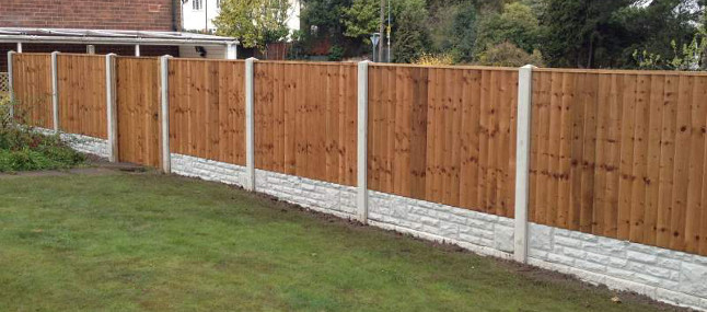 Garden Fencing Nottingham Garden Fences in Nottingham